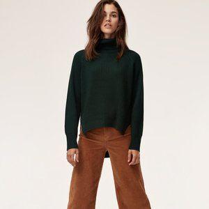 ARITZIA Wilfred Free Lin Wool Sweater XS